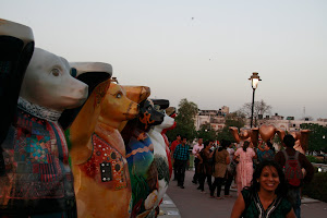 Berliner Bären in Delhi