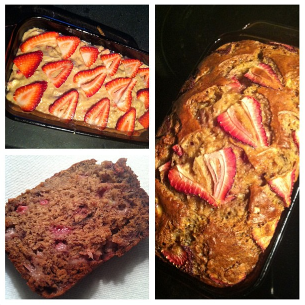 Weekend Baking: Brown Butter Banana Strawberry Bread ...
