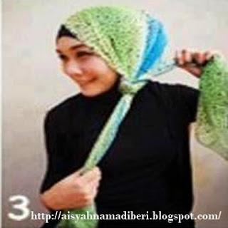 Cara Memakai Jilbab Kreasi Jilbab Pashmina Sifon Modis Dan Simple