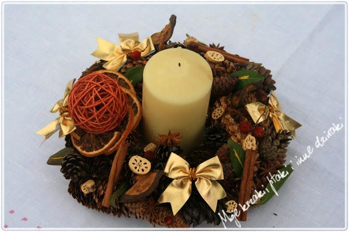 wianki na Boże Narodzenie, Christmas wreath