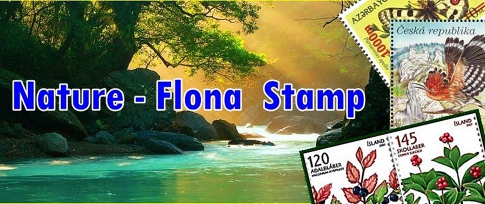 Nature Flona Stamps