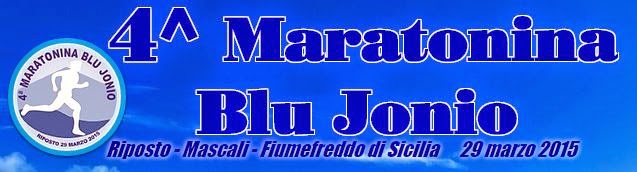 CLASSIFICA Maratonina Blu Jonio 2015