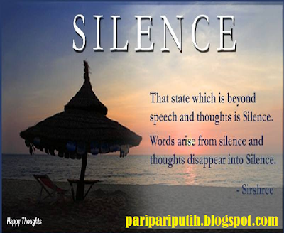 SILENCE DAY OF WEDNESDAY