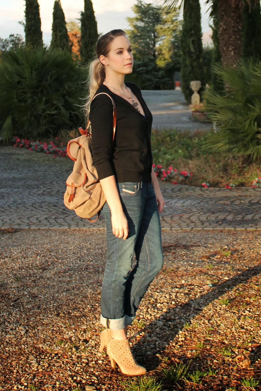 italian fashion blog, blonde