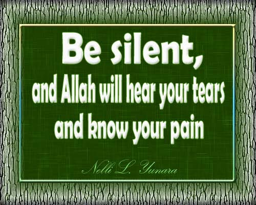 Be Silent...