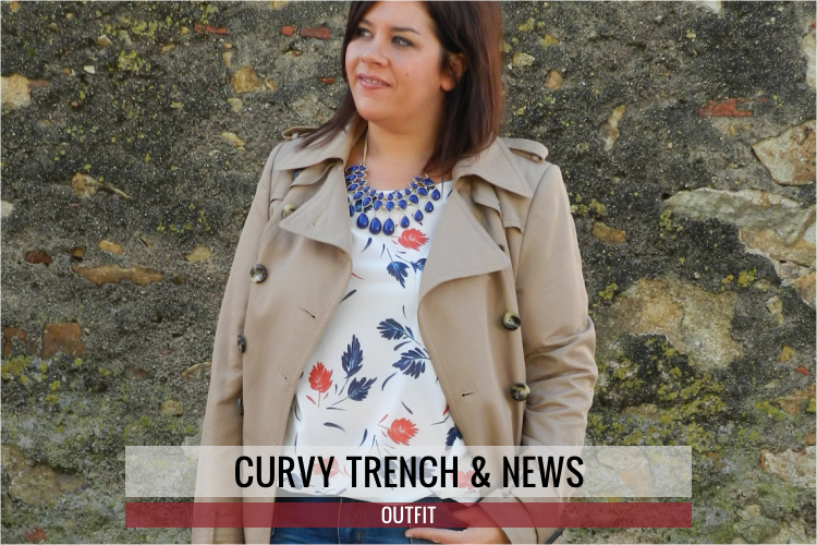 Curvy Trench & News