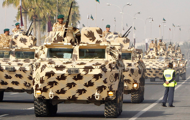 Qatar Siapkan Kekuatan Mliter Hadapi Koalisi Syiah