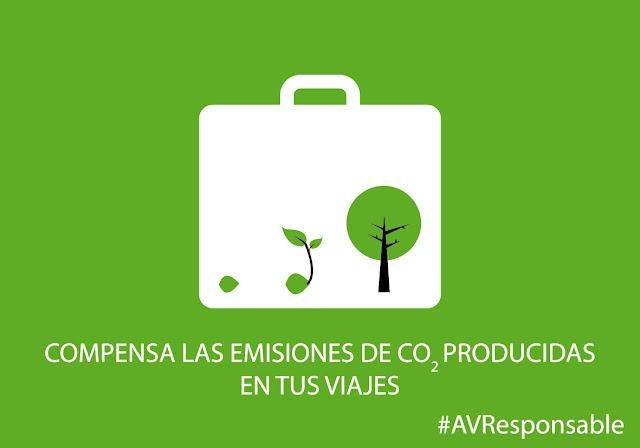 turismo responsable sostenible ecológico compensación de CO2