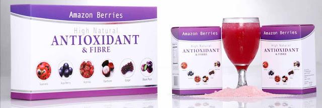 Amazon berries untuk mengatasi jerawat akibat kosmetik bermerkuri