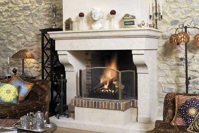fotos de chimeneas hacer chimenea decorativa
