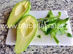Salata cu avocado decojit preparare reteta