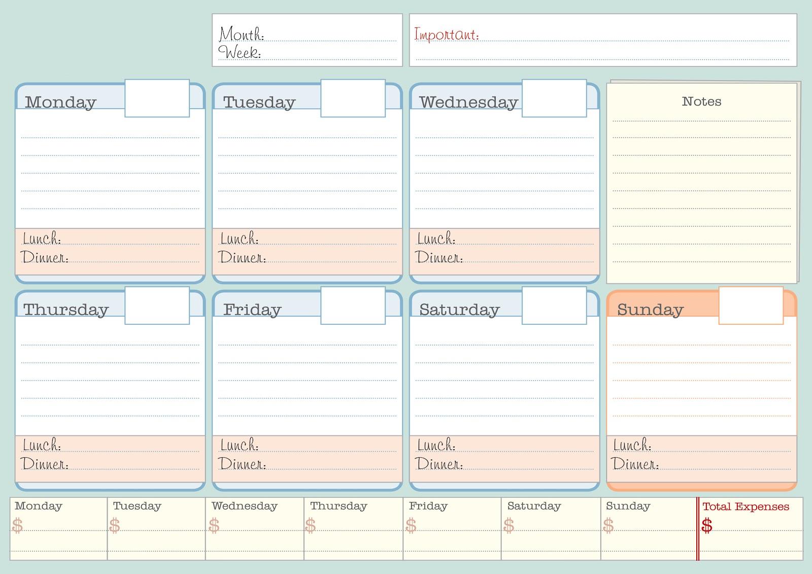 Calendar Planner Creator : V