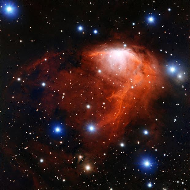 Star-Forming Region RCW 34