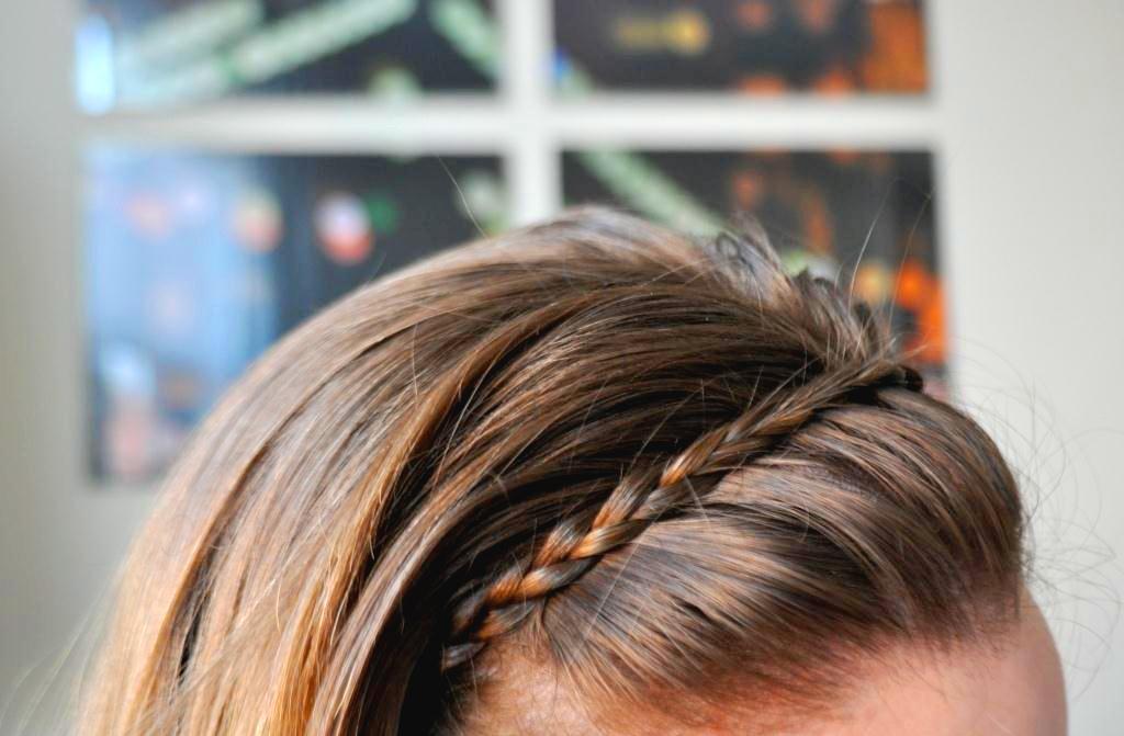 headband braid tutorial - photo #25