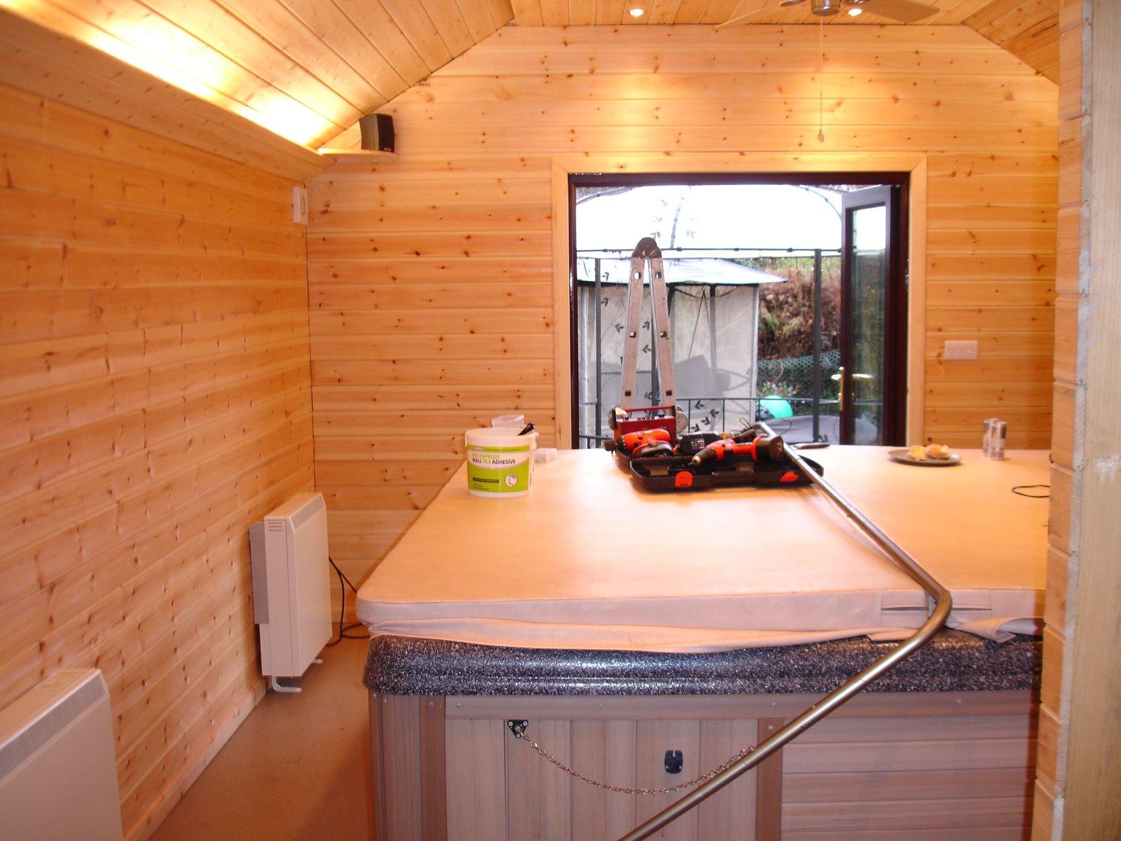 Bespoke Home Solutions Diy Log Cabin Hot Tub Extension