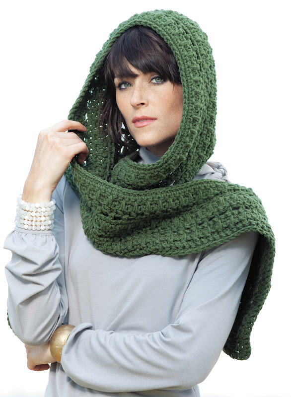 ... Life at Leisure: Win It Wednesday! Hooded Scarves to Crochet Giveaway