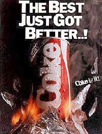 Lançamento da New Coke em 1985.