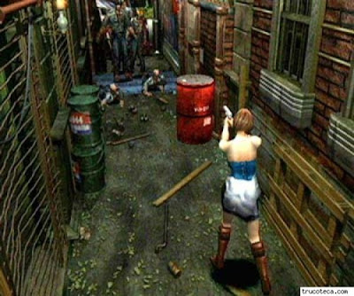 [Análise] Resident Evil 3 (PSOne) RE+3+Gameplay+1