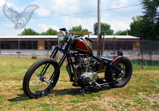 xs650 chopper - left | jason sallade