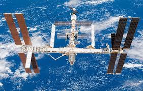 Ovni grabado desde Estacion Espacial