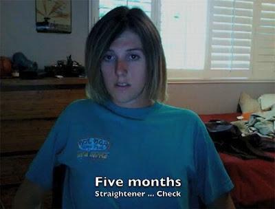 13 Gambar Lelaki Jadi Wanita Dalam Masa 13 Bulan