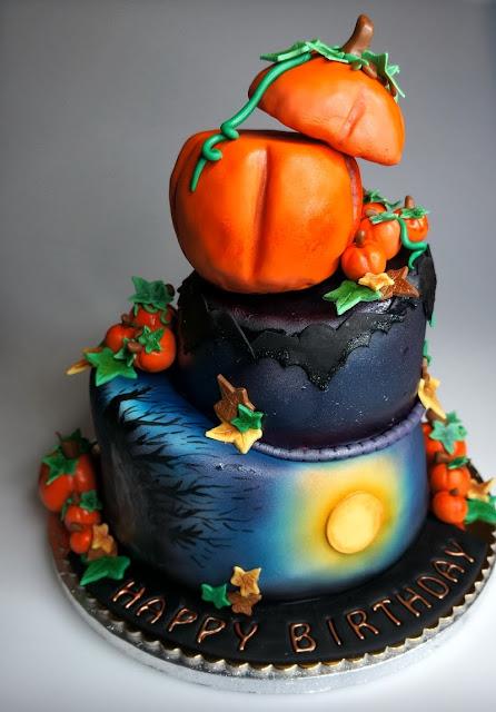 Halloween Cake - Birthday Party in London