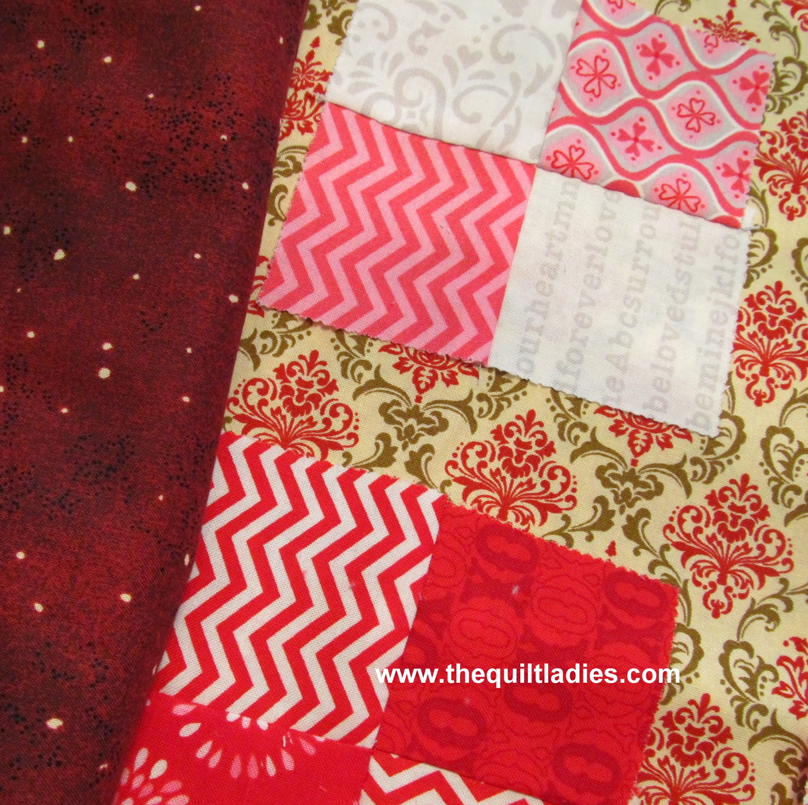 matching quilt fabric