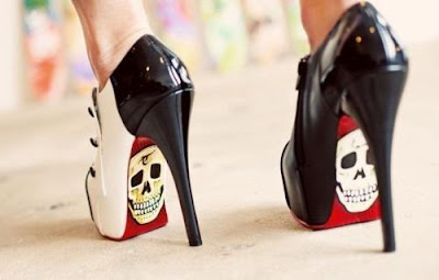 Scary Shoes, Cool Shoes, Killer Cupcakes