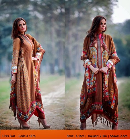 WardaPrintsFall WinterCollection2014 2015VOL2 wwwfashionhuntworldblogspotcom 006 - Winter Collection 2014  By Warda Prints vol  2