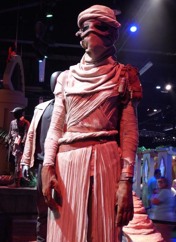 Rey Jakku planet costume Star Wars Force Awakens