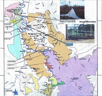 Peta kawasan tanah NCR di kawasan Baram yang habis digondol..!
