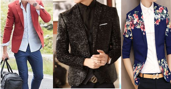 innovative mens fashion blazers