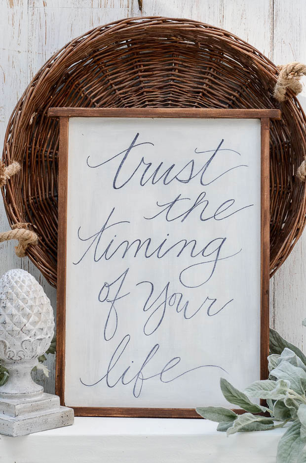 Check out this DIY wall art designed with your favorite quote.  |  anderson + grant for Craftberry Bush