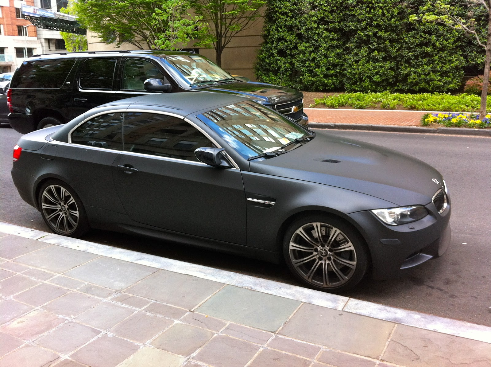 Matte Black BMW M3 (GWU)