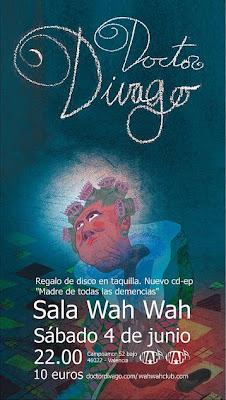 Noticia Concierto DOCTOR DIVAGO - 4-6-2011