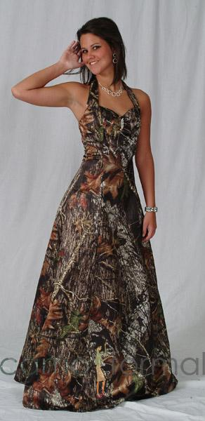 Camo Wedding Dresses