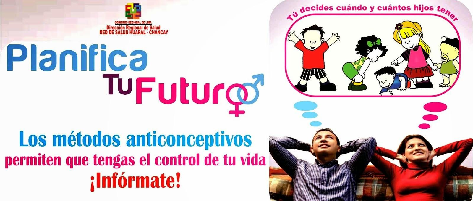 Los métodos anticonceptivos permiten que tengas el control de tu vida ¡Infórmate!