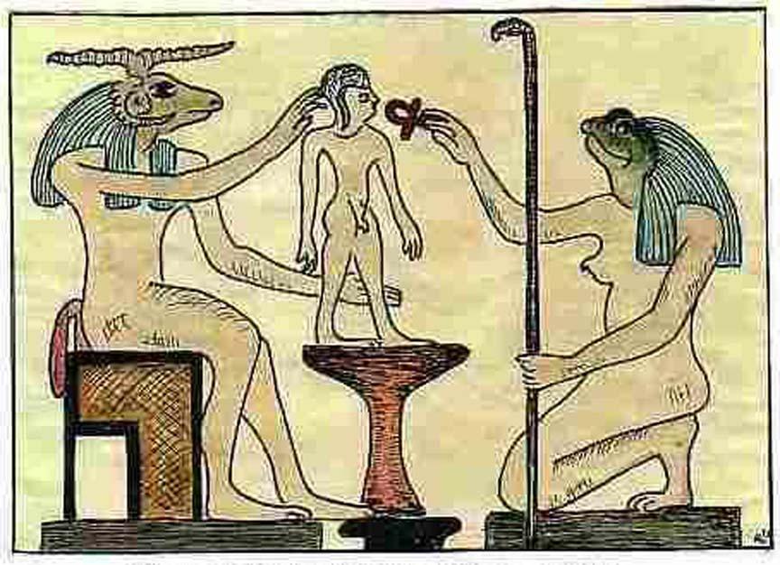 изображение бога хнему