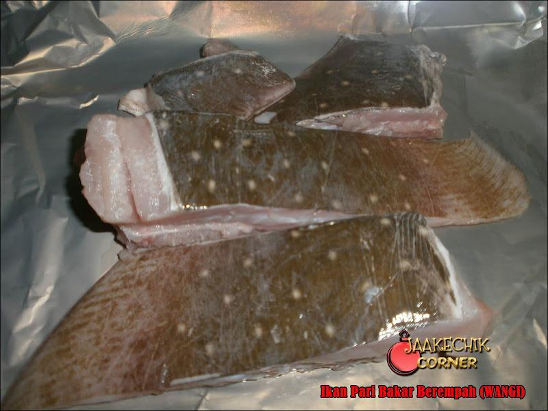 ikan bakar, ikan pari bakar, ikan bakar berempah, ikan tuko bakar, cara buat ikan bakar berempah, ikan bakar wangi, resepi, ikan bakar sedap, ikan pari bakar yang sedap,