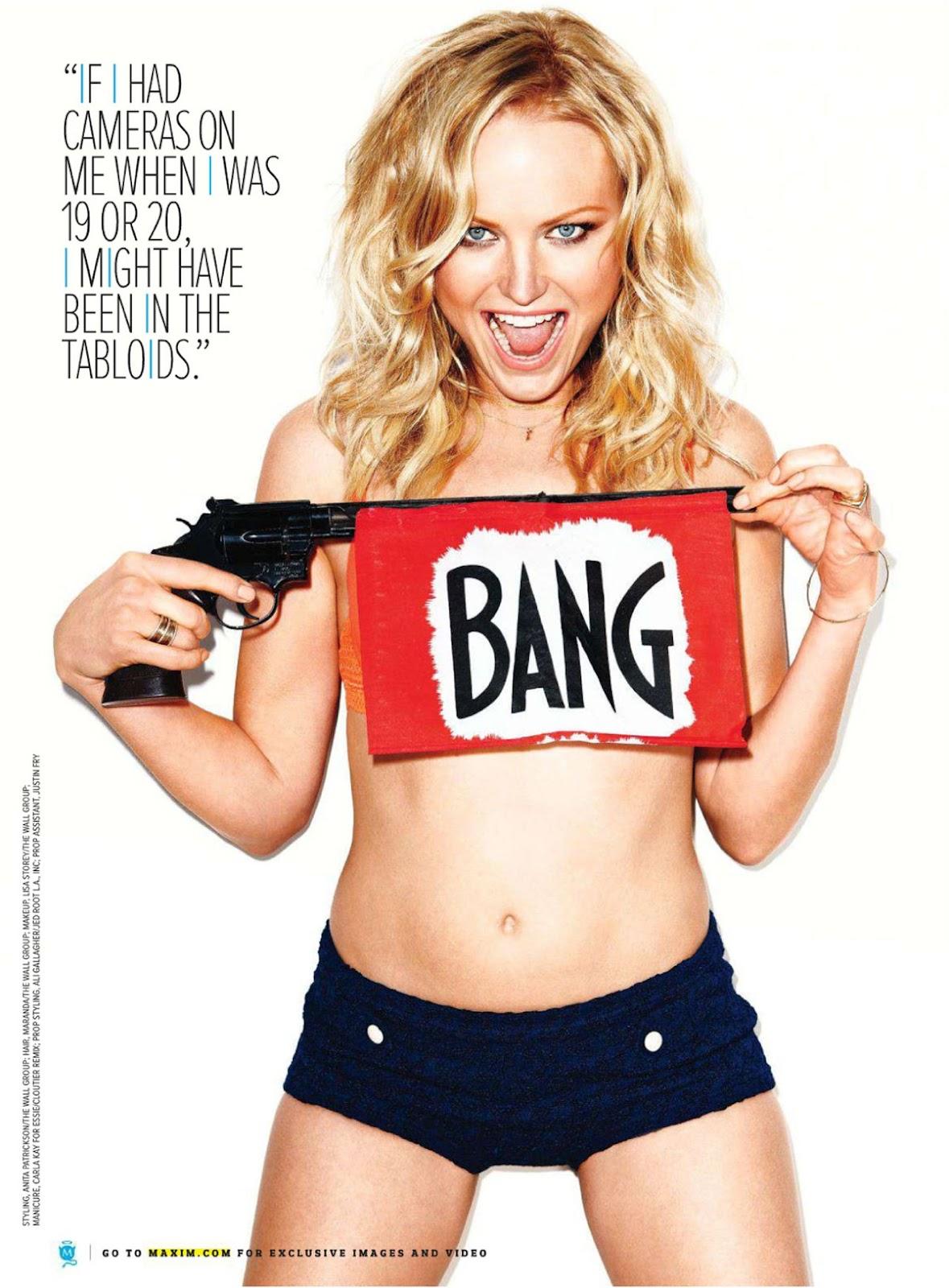 Malin Akerman ready to bang bang, Maxim May 2012 photo