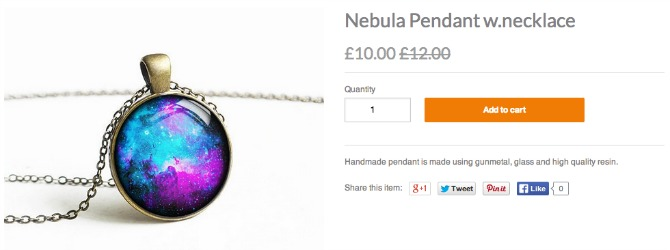camden town nebula necklace
