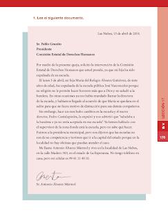 Los derechos humanos en nuestra Constitución - Formación Cívica y Ética Bloque 5to 2014-2015