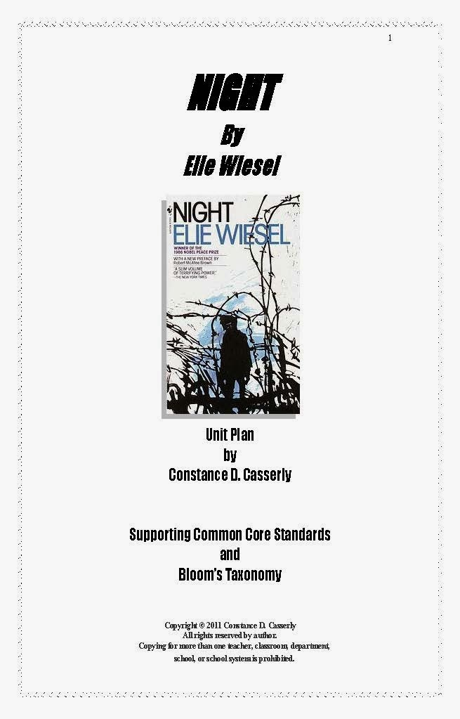 Elie wiesel night essay conclusion