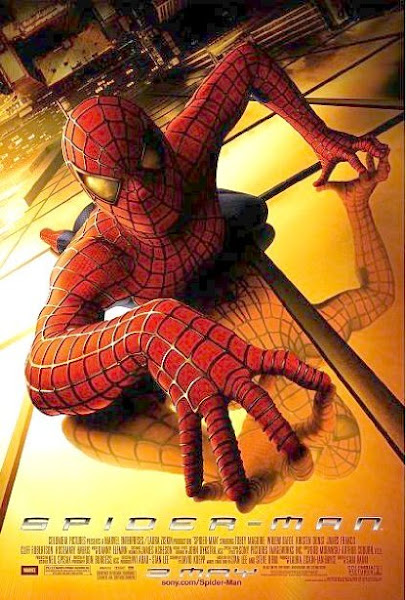Poster Of SpiderMan 2002 720p BRRip Hindi Dual Audio Full Movie