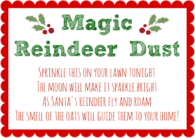 Free Reindeer Dust Printable Search Results Calendar 2015