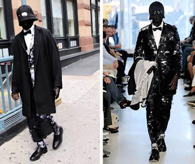 20 Weirdest Fashion Trends: Thom Browne's Dress