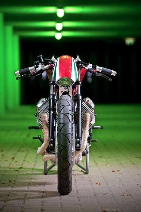 Moto Guzzi Cafe Racer | Moto Guzzi V50 Cafe Racer | by Rno Cycles | Moto Guzzi V50 Cafe Racer Images below