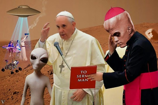 No Need To Baptize Aliens, They Are The Gods Of The Bible