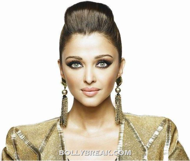 Aishwarya Rai with golden hair makeup - Aishwarya Rai Golden Hair Makeup Wallpaper