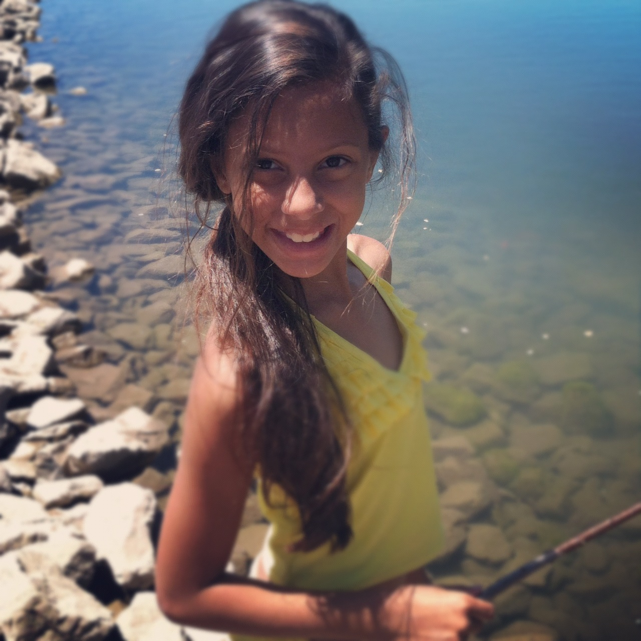 Brown Girl in Utah